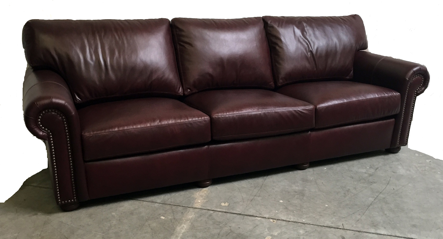 Custom Arm Sofa Roll arm 108 inch