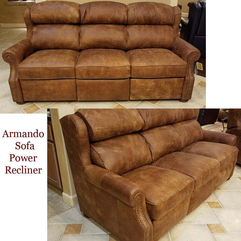... 930 90 Armando Sofa Recliner