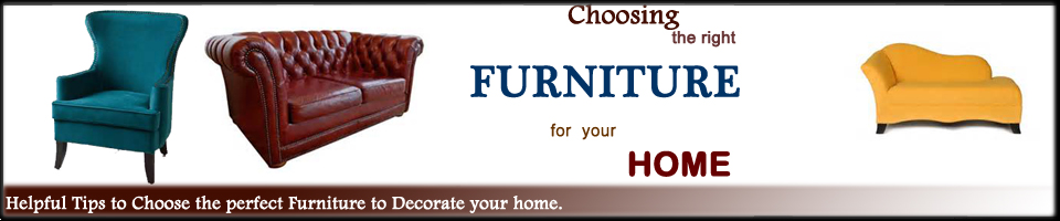 Choosing the right furniture Header