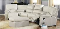 Palliser Dallin sectional Sofa in Off white