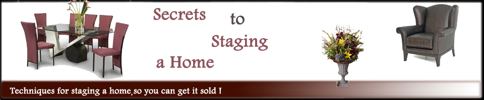 Home staging ideas header