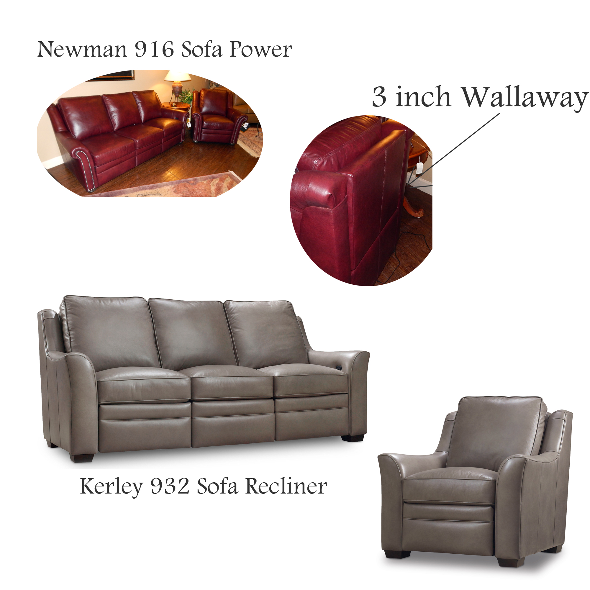 ... Recliner Newman and Kerley Sofa ...  sc 1 st  LeatherShoppes & Bradington-Young Luxury Motion Furniture-Made in the USA ... islam-shia.org