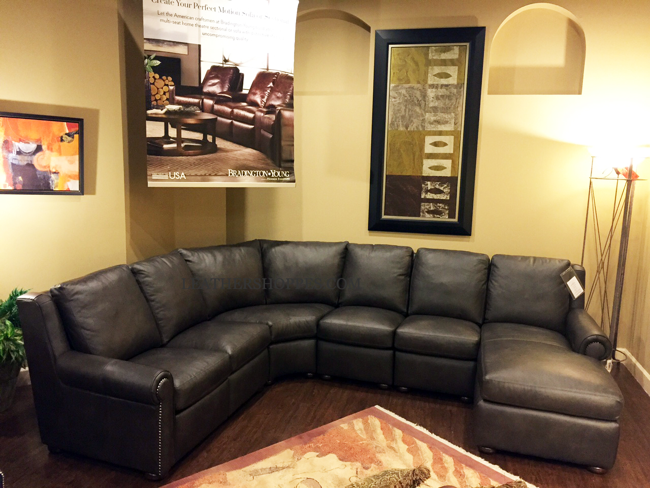 ... motion piece Whitaker Sectional Recliner ... : motion sectional - Sectionals, Sofas & Couches