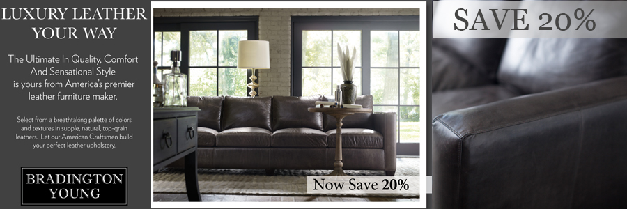Shop For Bradington Young Leather Sectionals