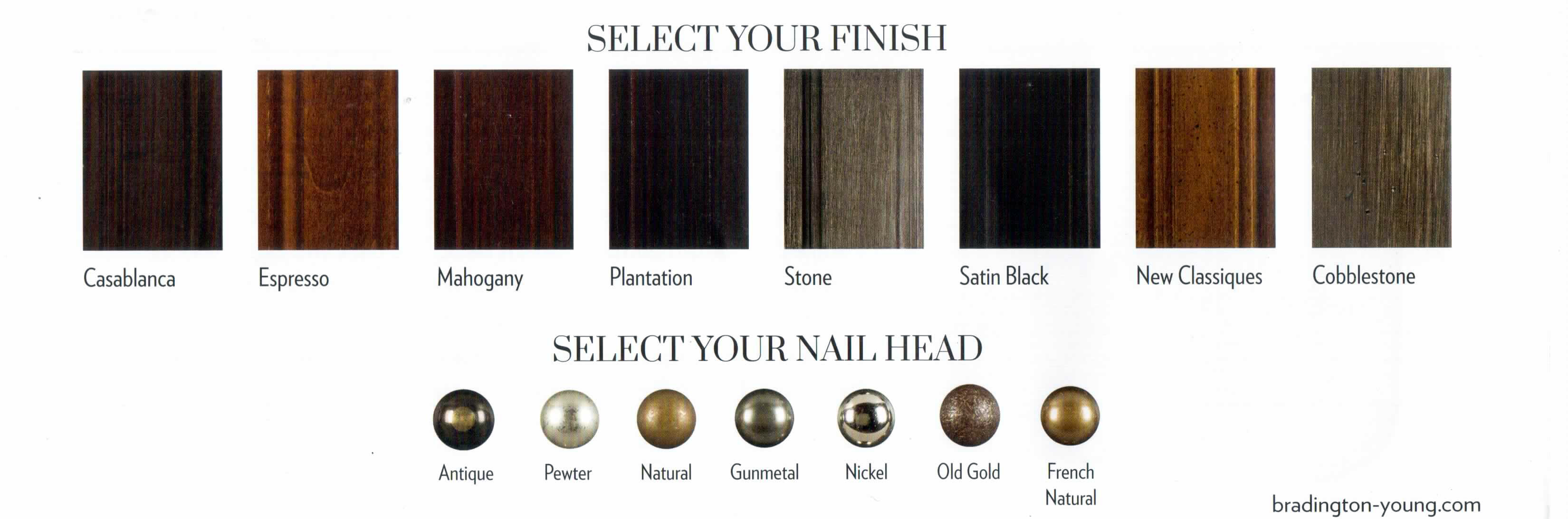 Wood and Nail Options