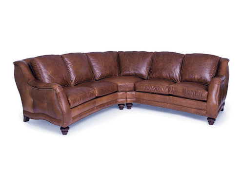 American Heritage Sundance Sectional  sc 1 st  LeatherShoppes : custom leather sectional - Sectionals, Sofas & Couches