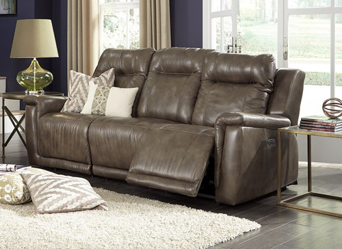 Image 1 & Palliser Leather Power Head Rest Recliner Sofa -Model:Riley 41055 islam-shia.org