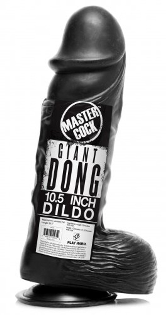 "Giant Black 10.5"" Dong (packaged)"