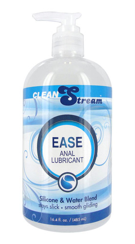 CleanStream Ease Hybrid Anal Lubricant - 16.4 ounce