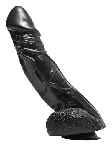 Big Black Bob 11 Inch Suction Cup Dildo