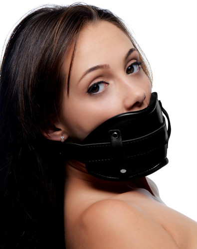 Cock Head Silicone Mouth Gag