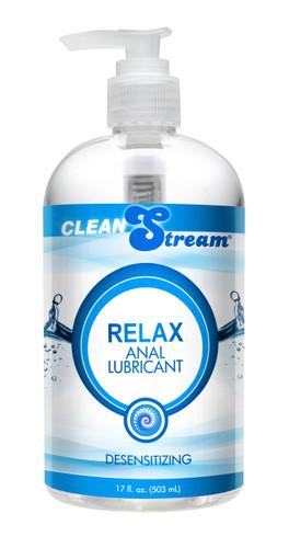 Clean Stream Relax Desensitizing Anal Lube - 17.5oz