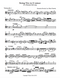 first page of the sheet music for the first cello from the string trio by Borodin for cello trio.