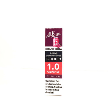 E-Liquid 1.0% - Grape Soda