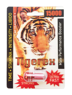 TIGEREX 15000  - Fast Acting Male Enhancement
