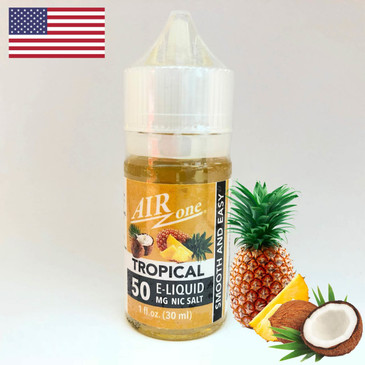 Nicotine Salt E-Liquid 50 MG - Tropical (30ml)