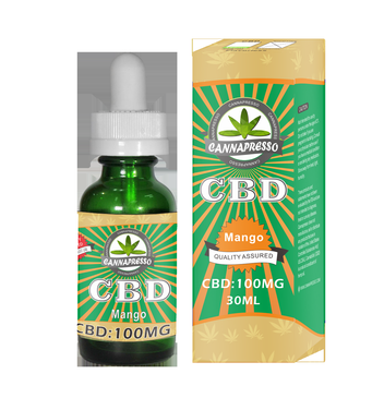 CBD E-Liquid 100 MG - Mango (30ml)