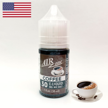 Nicotine Salt E-Liquid 50 MG - Coffee (30ml)