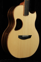 McPherson Custom 4.5 Camrielle Striped Macassor Ebony/ Carpathian Red Spruce
