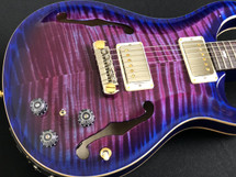 PRS Paul Reed Smith Hollowbody II Purple Blue Burst