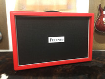 Friedman 2 x 12 Red Bronco Tolex Closed Cabinet