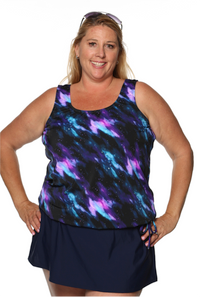 Mastectomy Wear Your Own Bra Tankini Top - New 2019 Prints!