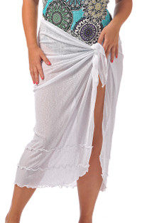 Long Sarong Cover-Up