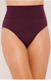 Bordeaux High Rise Bottom by Tara Grinna - Size 14