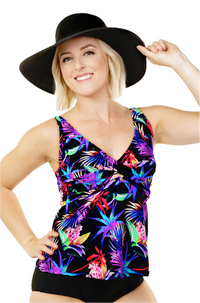 Twist Front Tankini Top - New 2020 Collection!