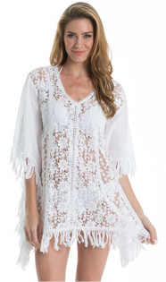 Crochet and Lace Cover-Up