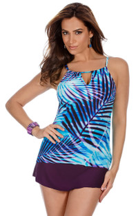 Palm Reader Peephole Tankini Top