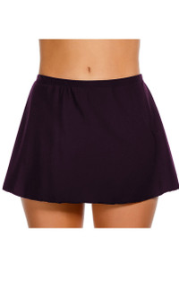 Plum Skirted Bottom