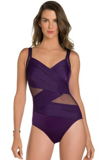 New Sensations Plum Madero One Piece