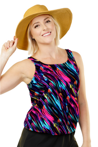 Mastectomy Blouson Tankini Top - New 2020 Collection!