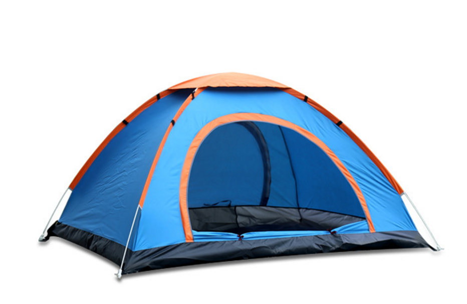 New Instant Pop Up Pitch Tent Camping 3 Man Person Berth