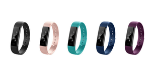 Bluetooth Fitness Tracker in 5 Colours