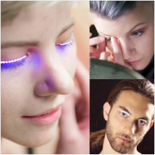 INTERACTIVE LED LASHES