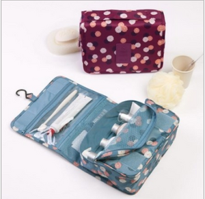 Expandable Travel Hanging Wash Bag Toiletry Organizer Ladies Women Make Up Pouch