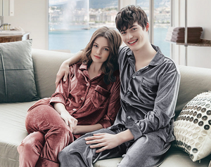Velvet Unisex Pajamas set 2pcs