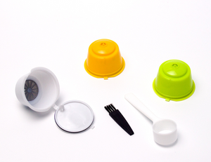 Refillable coffee capsules compatible with Nescafé Dolce Gusto