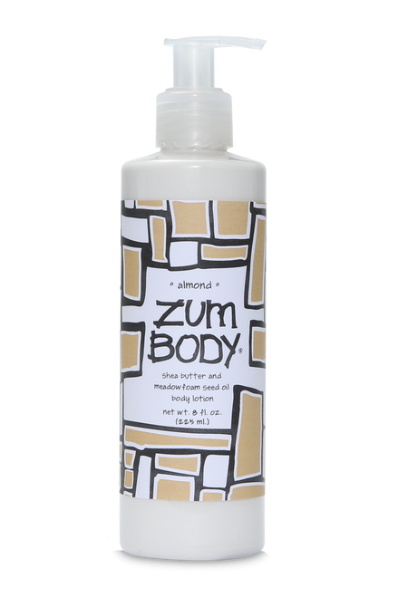 Almond Zum Body Lotion Indigo Wild 8oz