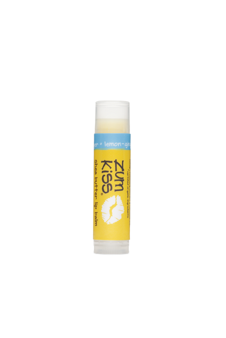 Lemon Ginger Zum Kiss Stick Shea Butter Lip Balm Indigo Wild
