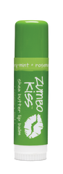Rosemary Mint Zumbo Jumbo Kiss Stick Shea Butter Lip Balm Indigo Wild