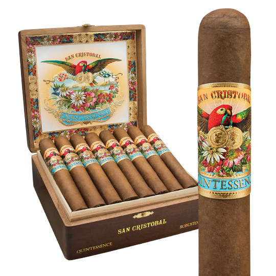 San Cristobal Quintessence Robusto (5.5x50 / Box 24)