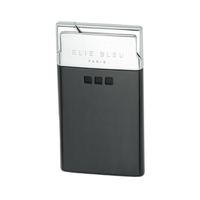 Elie Bleu Delgado Jet Flame Lighter Black Matte