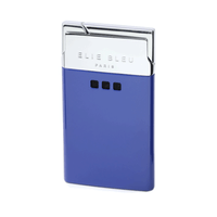 Elie Bleu Delgado Jet Flame Lighter Blue Lacquer