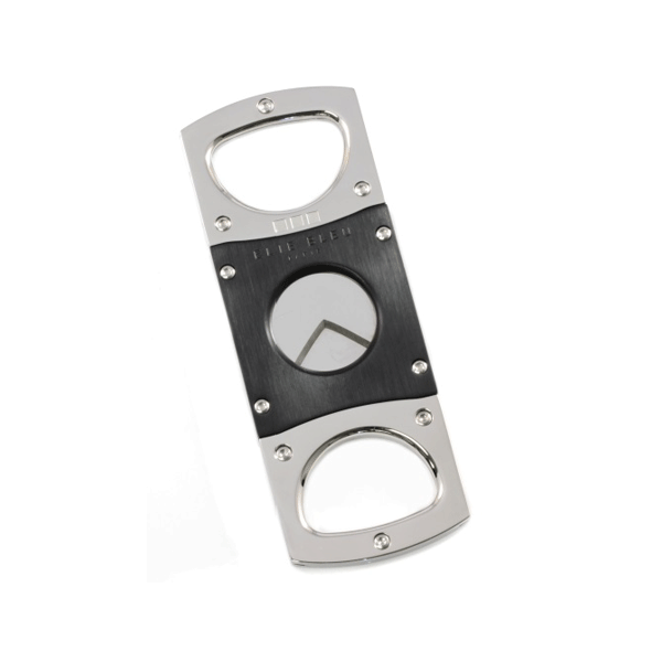 Elie Bleu Double Square Guillotine Polished Stainless Steal / Satin Black Cutter