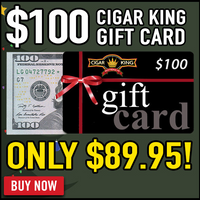 $100 Cigar King Gift Card (BLACK FRIDAY SPECIAL)
