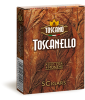 TOSCANELLO Natural Maduro (3x38 / Pack Of 5)