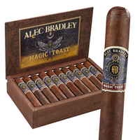 Alec Bradley Magic Toast Robusto (5x52 / Box 20) + FREE $50 MYSTERY 5-PACK! + FREE SHIPPING ON YOUR ENTIRE ORDER!